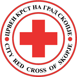 City Red Cross of Skopje Logo Vector