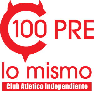Club Atletico Independiente Centenario Logo Vector