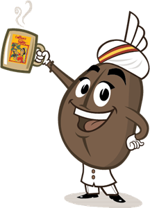Coffe Swami - Indian Coffe Board Logo Vector