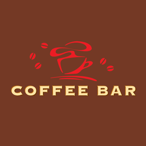 Coffee Bar Logo Vector