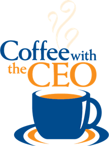 Coffee with the CEO Logo Vector