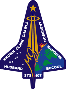 Columbia mission patch Logo Vector