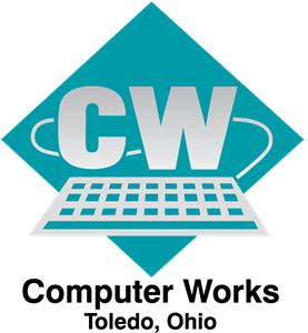 Computer Works Logo Vector