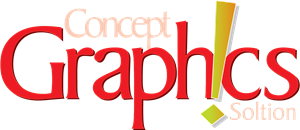 Concept Graphics Solution Logo Vector