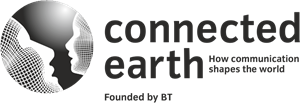 Connected Earth Logo Vector