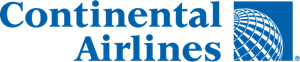 Continental Airlines Logo Vector
