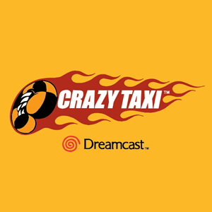 Crazy Taxi Logo Vector