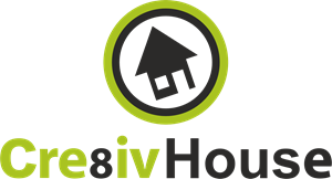 Cre8iv House Logo Vector
