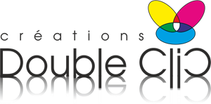 Creations Double-Clic Inc. Logo Vector