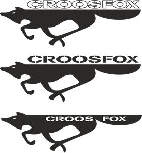 CrossFox Logo Vector