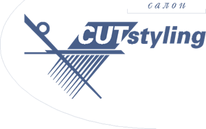 Cut Styling Logo Vector