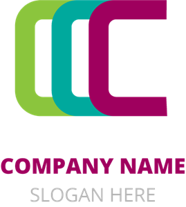 C Letter Company Logo Vector
