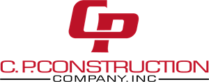 C.P construction company.inc Logo Vector