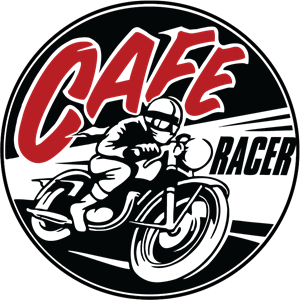 Cafe Racer Logo Vector