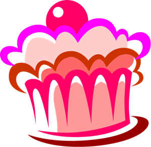 Cake Food Logo Vector