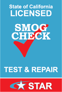 California Smog Check Logo Vector