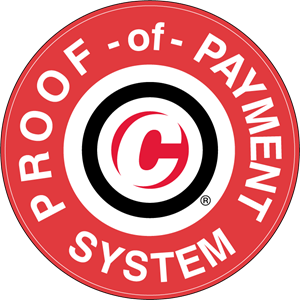 Caltrain proof of payment system Logo Vector