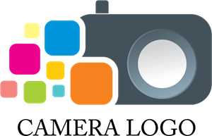 Camera Shop Design Logo Vector