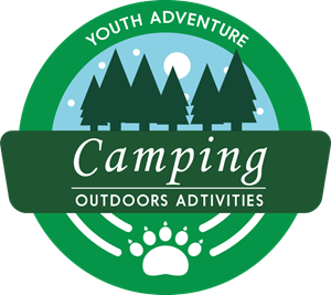 Camping outdoor activities Logo Vector