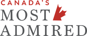 Canada's Most Admired Logo Vector