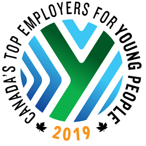Canada's Top Employers for Young People 2019 Logo Vector