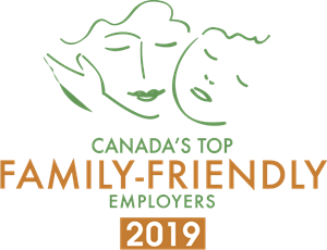 Canada's Top Family-Friendly Employers 2019 Logo Vector