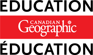 Canadian Geographic Education Logo Vector