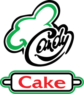 Candy Cake Logo Vector