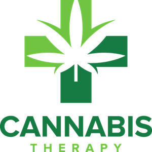 Cannabis Therapy Logo Vector