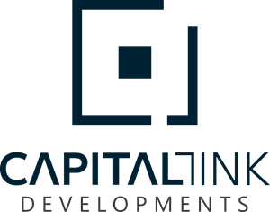 capital link development Logo Vector