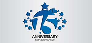 Capital Newspaper 15th Anniversary Logo Vector