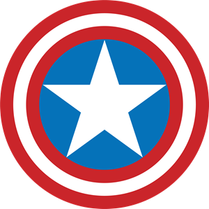 Captain America Shield Logo Vector