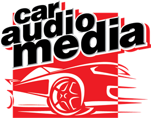 Car Audio Media Logo Vector