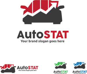 car stat Logo Vector