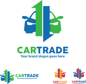 Car Trade Logo Vector