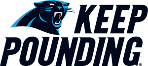 Carolina Panthers Keep Pounding Logo Vector