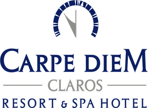 Carpe Diem Claros Resort Spa Hotel Logo Vector