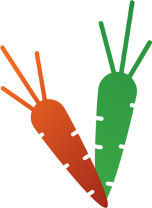 Carrot Food Logo Vector