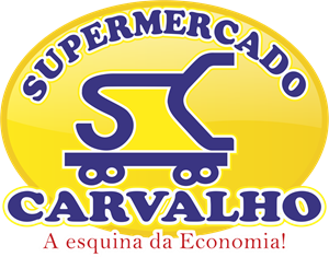Carvalho Supermercado Logo Vector