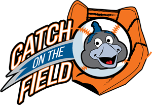 CATCH ON THE FIELD Logo Vector