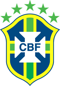 CBF Brasil Football Federation Logo Vector