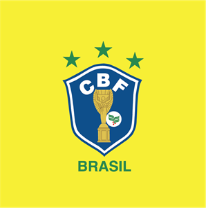 CBF old shield used by Brazil's national team Logo Vector