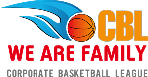 CBL WE ARE FAMILY CORPORATE BASKETBALL LEAGUE Logo Vector