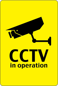 CCTV IN OPERATION SIGN Logo Vector