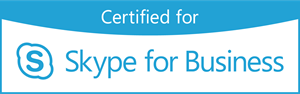 Certified for Skype for Business Logo Vector
