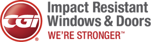 CGI Impact Windows and Doors Logo Vector