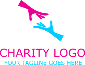 Charity Hands Logo Vector