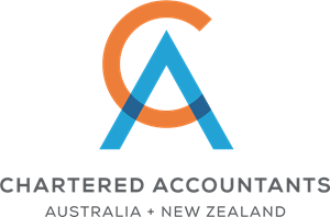 Chartered Accountants Australia and New Zealand Logo Vector