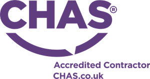 CHAS Accredited Contractor Logo Vector
