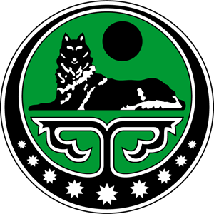 Chechen Republic of Ichkeria variant of arms Logo Vector